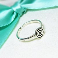 american targets - rings Sterling silver Target for archery ancient ways opening women gift iice latest fashion Jewelry NO281