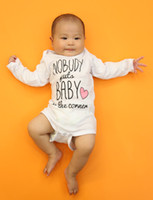 baby maternity clothing - Ins Baby clothing Long sleeve Letters brief romper Baby clothes Newborn clothing cotton thin summer Maternity supplies