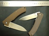 Wholesale HARNDS CK6015 CK6015 Viper Folding hunting Knife Cr18Mov Blade Textured G10 Handle w Clip Nylon Pouch