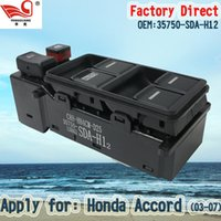 Wholesale Factory Direct Left and Front Master Electric Power Window Main Switch Apply for Honda Accord SDA H15