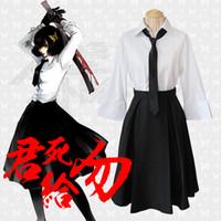 akiko dress - Anime Bungou Stray Dogs Akiko Yosano Uniform Costume Dress Cosplay