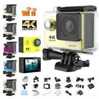 Wholesale 4K Ultra HD H9 wifi mini sports action dv camera mp CMOS sensor inch TFT LCD