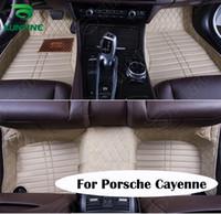 Wholesale Top Quality D Car Floor Mat For Porsche Cayenne Foot Mat Car Foot Pad Colors Left Hand Driver Drop Shipping KF A2243