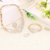 beads wholesale prices - Gorgeous gold Nigerian African Beads Jewelry Set Dubai Gold Wedding piece set jewelry Price Sets