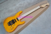 active guitar pickup - best Musical Instruments EMG Pickup JACK SON SL2H USA SOLOIST FLAME yellow Electric Guitar with active pickup