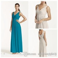 Cheap Cheap Bridesmaid Dresses 2015 Custom Made New Long Mesh Dress with Cowl Back Detail Style F15933 Bridesmaid Dresses