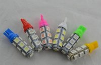 Wholesale Car indication light T10 LED SMD Car Wedge Light Bulb V DC