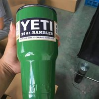 best briefs - New arrival and best quality OZ YETI Tumbler Rambler Cups Large Capacity Stainless Steel Tumbler Mugs many different colors