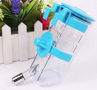Wholesale Haning Automatic Plastic Rustless Pet Dog Cat Water Feeder Drinking Bottles