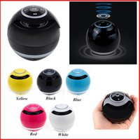bass shapes - GS009 YST Mini Ball Portable Bluetooth Wireless Mini Ball Shaped Super Bass Stereo Handsfree Mic TF Card With LED Light Ring VS BT