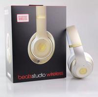 Wholesale Wireless Headphones beats studio Noise Cancel Bluetooth Headphones Headset With Seal Retail Box Used Refurbished
