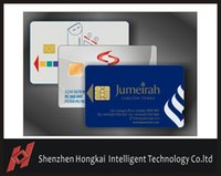 Wholesale SLE4442 color printing plastic smart Contact IC card