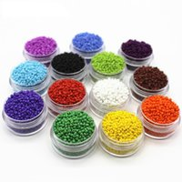 czech seed beads - 1000pcs Multicolored mm Czech Glass Seed Beads Fits for Fashion Handmade DIY Jewelry Making