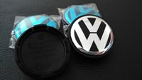 Wholesale sets mm mm mm VW blue black Wheel Center Cover Hub Cap D car badges emblem for blue black VW