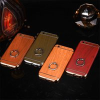 aluminum case parts - Three part Elegant Phone Cases for plus Solid and Sturdy Aluminum Alloy Ring Cases for iPhone s