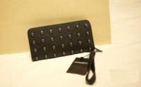 Cheap Quality Guaranteed Gothic Skull Mosaic Wallet Designer Clutch Free Shipping purse handbag handbag brown handbag brown