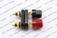 amp binding posts - Gold Plated WAY Speaker Cable Amplifier TERMINAL Dual BINDING Post for AMPS Speakers