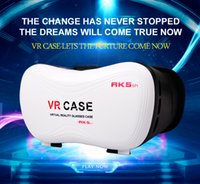 Wholesale VR Glasses Newest Virtual Reality D VR Cases Box With Gamepad Head Mounted