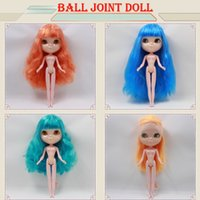 Wholesale BJD DOLL cost Nude Blyth Doll Factory doll Fashion doll Suitable For DIY Change BJD Toy For Girls ON SALE