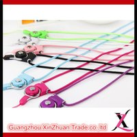 Wholesale 2016 Hot Sales High Quality Universal Neck Strap Lanyard Variety colors For any brand Mobile Phones DHL Free