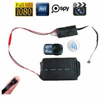 audio module with memory - 10pcs Free DHL HD P DIY Module MINI DV DVR Camera Camcorder Video Audio Recorder Motion with Remote Control mah Battery