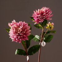 artificial dahlia - High Simulation Home Decor Flower Artificial Dahlia Decorative Artifical Dahlia Flower