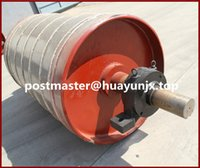 belt conveyor pulleys - Rubberized bend pulleys for belt conveyor system Belt conveyor pulleys