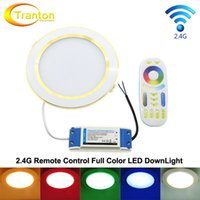 Wholesale Mi Light G LED DownLight G Full Color Remote AC86 V W RGB WW CW Remote Control LEDLight Set