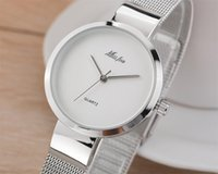 Cheap 2016 Wowen's leisure brand watches stainless steel round star with Japan quartz movement waterproof watch battery for Miss fox
