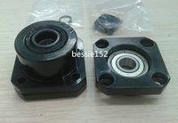 Rod End ballscrew bearing - 1sets FK12 Fixed FF12 Floated side bearing block mount CNC Ballscrew end