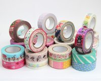 adhesive packaging tape - 10PCS New vintage tower lace series washi masking Tape Decoration stationery Tape