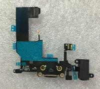 Wholesale 10pcs New High Quality Headphone Audio Jack USB Charge Data Dock Port Flex for iPhone