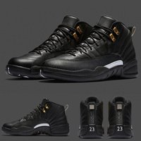 band mid - With shoes Box High Quality Hot Sale Retro XII Black White The Master Men Basketball Sport Sneakers Shoes