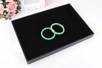 big earring holder - Fashion Big Sales per quot Jewelry display flat tray holder cradle in black