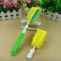 Wholesale Maternal and infant supplies Sponge bottle brush Two piece suit direct deal