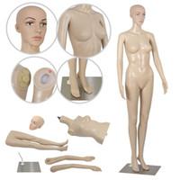 Wholesale 68 quot quot quot quot Standing Female Adult Dress Form Base Full Body Mannequin