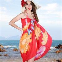 Wholesale 2015 New Sarongs Bikini Wrap Skirt Veil Beach Towel Beach Travel Summer Thin Scarf Shawl Female Sunscreen