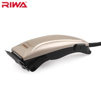 Wholesale Riwa Brand Cord Hair Clipper RE A White and Gold Color Mens Hair Trimmer V Hz