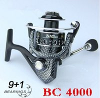 bc fishing - High quality fishing lure coil BC series bearing spinning fishing reel metal Aluminum spools lure reel