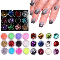 Wholesale Nail Art Nail Glitter Pigment Make up Mineral Spangle Makeup Cosmetics Maquiagens Beauty Maquillage DHL free I201652701