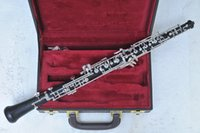 Wholesale C key Auto Ebony Oboe for Adult with case Shipping time days musical instrument