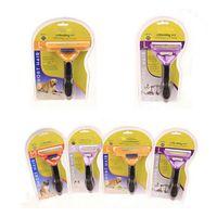 Wholesale Pet Brush for Dog and Cat deShedding Tool Grooming Yellow Long Hair Short Hair Expert deshedding Edge Designer