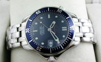 Wholesale Drop shipping Luxury Mens Professional m James Bond Blue Dial Sapphire Automatic Watch Men s Watches