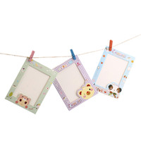 Wholesale Popular quot Cartoon Animal Hanging Album Photo Frame Clips Rope Wall Decor Gift