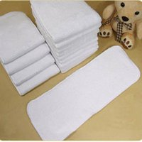 Wholesale Anaby Diaper Insert Breathable Layer Microfiber Inserts Washable Reuasable Baby Changing Pads