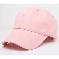 Wholesale Female Suede Snapback Baseball Caps New Fashion Brand Gorras Sportcap Golf Cap Hip Hop Flat Hat Men Casquette Bone Falte cap