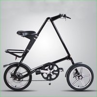 Wholesale Strida Road Bike Alluminum Alloy Complete Foldable Bicycle Size inch Colors Folding Bicycle Spokes
