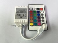 Wholesale 24key normal led RGB controller brand new DC12V IR remote controller for RGB strip color control