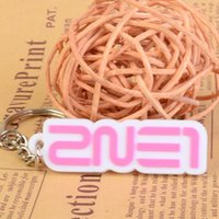 arrival chain mail - Fashion Jewelry Key Chains New arrival ne1 group pink key chain key ring ring thin chain mail ring
