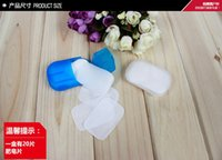 Wholesale New Arrivals Set Portable Hand Washing Paper Soap Flakes Travel Toiletries Small Plastic